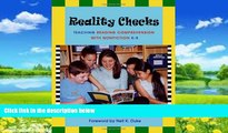 Buy Tony Stead Reality Checks: Teaching Reading Comprehension with Nonfiction, K-5 Full Book