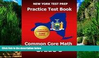 Buy Test Master Press New York NEW YORK TEST PREP Practice Test Book Common Core Math Grade 5: