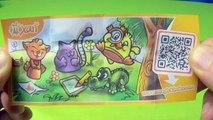 Kinder Surprise Maxi Egg Vs. Kinder Surprise Egg, Hello Kitty, mixart Surprise Toys