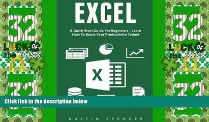 Best Price Excel: A Quick Start Guide For Beginners - Learn How To Boost Your Productivity Today!