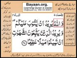 Quran in urdu Surah AL Nissa 004 Ayat 027 Learn Quran translation in Urdu Easy Quran Learning
