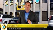 Cube Van Wraps Surrey BC - Best Vinyl Van Wraps Surrey - Sign Hub