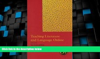 Best Price Teaching Literature and Language Online (Options for Teaching (Paperback))  For Kindle
