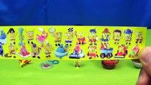 13 Surprise Eggs Cars Disney Princess Super Mario Spongebob Spider Man Frozen Turtles Surprise Toys