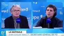 """Jean-Claude Mailly : """"Le programme économique de François Fillon c'est la loi Travail puissance 10"""""""