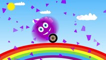 Happy Colored #Smiles on #Rainbow / Learn #Colors with Smiles for #Kids / Fun animation