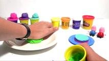 (TOYS) Comment faire un Rainbow Cake en pâte à modeler ♡ Peppa Pig Gâteau en Arc-en-ciel Play Doh