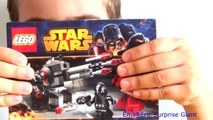Surprise Egg Star Wars - Lego City Star Wars Death Star Troopers - by Ema&Eric Surprise Giant