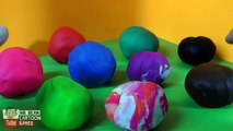 Learn Colors with Play-Doh Surprise Eggs - Peppa Pig, Marvel Superheroes Toys For Kids