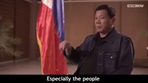 """""""Why Police should waste time putting tape around a dead body? why don't the kill the idiot who killed?"""" - Philippine President Duterte"""