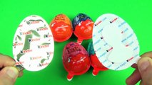 Surprise Eggs Kinder Joy Orange Blue Black Red Green Ice Age Collision Course Edition
