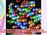 GDEALER Solar String Lights 72feet 200 LED 8 Modes Solar Powered Waterproof Starry Fairy Outdoor