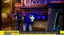 Colombia Plane Crash With Brazilian Soccer Team Chapecoense
