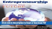 Read Student Activity Workbook for Entrepreneurship: Owning