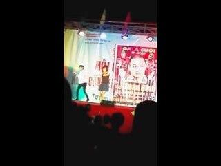 Hot Boy Kẹo Kéo Bùi Vĩnh Phúc hát tại Phù Ninh Phú Thọ live Vì Sao Người Hỡi