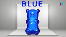 Gummy Bear Colors | Learn Colors with Gummy Bear | Animated Gummy Bear Colors For Children