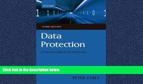Audiobook Data Protection: A Practical Guide to UK and EU Law Peter Carey BOOK ONLINE FOR IPAD