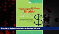 PDF Students Helping Students Getting Through College without Going Broke: A crash course on