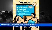 Buy College Prowler California Colleges (College Prowler) (College Prowler: California Colleges)
