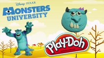 How to Make Monster With Play Doh Monster University james p sullivan