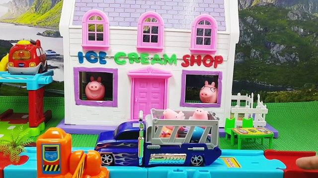 Peppa Pig Ice Cream Shop Full Episodes   Peppa Pig Ice cream surprise