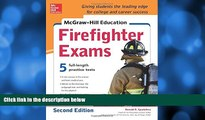 Pre Order McGraw-Hill Education Firefighter Exam, 2nd Edition Ronald Spadafora On CD