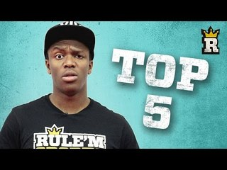KSI's Top 5 Epic Wins Compilation! | Rule'm Sports