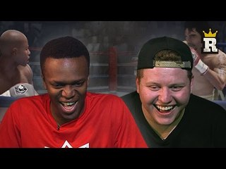 KSI & Behzinga's Mayweather-Pacquiao Prediction | Rule'm Sports