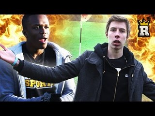KSI vs. Calfreezy: FootGolf | Rule'm Sports