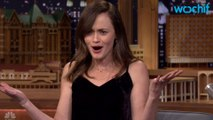 "Alexis Bledel Visits The Tonight Show To Discuss ""Gilmore Girls"""