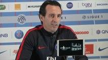 Foot - L1 - PSG : Emery «Je suis content avec les joueurs»