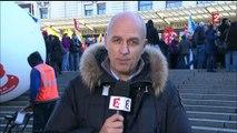 Fonctionnaires : manifestation des agents de la fonction publique à Paris