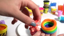 Surprise Rainbow Dash cake Play Doh ♥ Gâteau Surprise Arc-en-ciel Rainbow Dash Play Doh