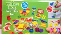 Sesame Street: Unboxing A Bento Box with Cookie Monster - YT
