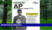 Best Price Cracking the AP Psychology Exam, 2013 Edition (College Test Preparation) Princeton