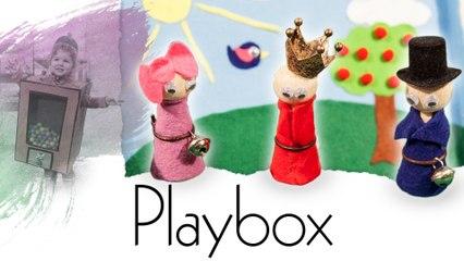 Mobile Spielbox zum selber basteln -- Handmade