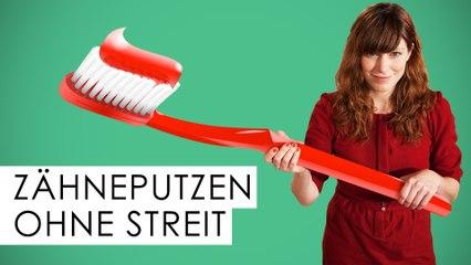Zähneputzen beim Kind: 5 gute Tipps - Elternabend