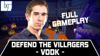VODK – DEFEND THE VILLAGERS – FULL GAMEPLAY