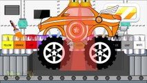 Capitain American Truck Colors - Learning Colours Video For Kids