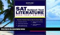 Best Price Kaplan SAT Subject Test: Literature 2006-2007 (Kaplan SAT Subject Tests: Literature)