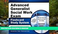 READ THE NEW BOOK Advanced Generalist Social Work Exam Flashcard Study System: ASWB Test Practice
