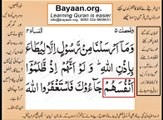 Quran in urdu Surah AL Nissa 004 Ayat 064B Learn Quran translation in Urdu Easy Quran Learning