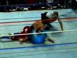 Wrestling - WWF - Bret Hart vs Dynamite Kid (WWF TV show 1980s)