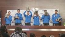 Campeones de la Copa Davis son recibidos como héroes en Argentina