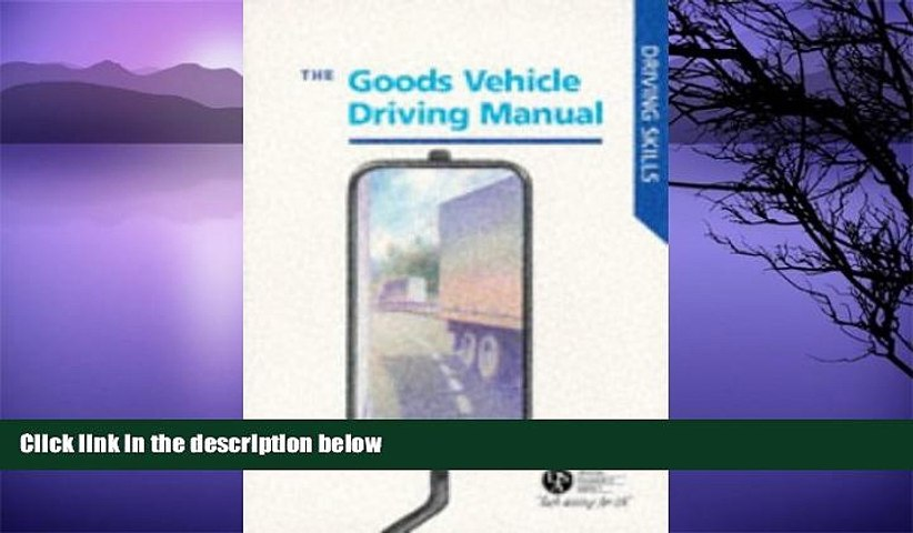 Audiobook Goods Vehicle Driving Manual (Driving Skills) Driving Standards Agency On CD