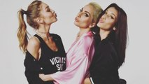 Lady Gaga Gears Up For Victoria's Secret Fashion Show With Gigi and Bella Hadid