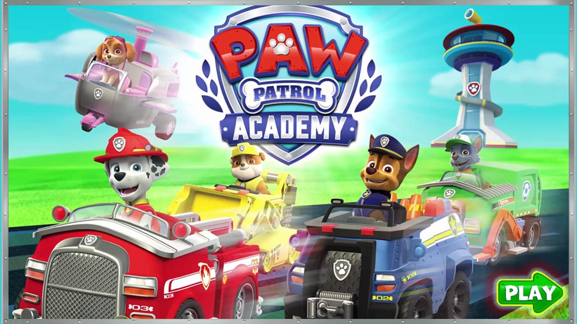 Nick JR Paw Patrol Academy Game - Paw Patrol Cartoon Nick JR - PAW Patrol English 2016 HD