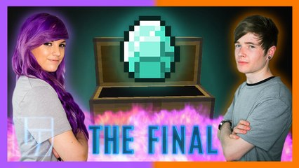 DanTDM v AshleyMarieeGaming - Round 3 - Minecraft: 1v1 | Legends of Gaming