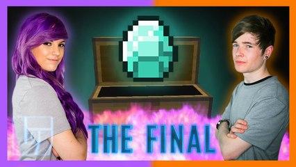 DanTDM v AshleyMarieeGaming - Round 3 - Minecraft: 1v1   Legends of Gaming