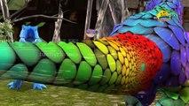 ABC Alphabet Song Color Animals | ABC Songs 3D Animals for Kids | Cartoon Animation Nursery Rhymes